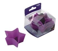 FDA cake tins - Star shapes Silicone Mould Cake Mold Tin Liner Muffin Cupcake Pan bakeware cake tool