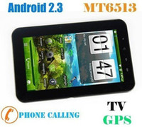 4.8 inch Android 2.3 2GB NEW 7 inch E98 MTK6513 GPS +WIFI +ANDROID 2.3 MID TABLET PC EMS Big Discount