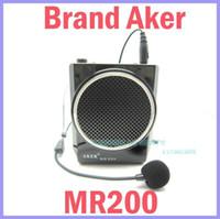 Wholesale W AKER MR200 Waistband Portable PA Voice Amplifier Booster MP3 Speaker FM USB TF