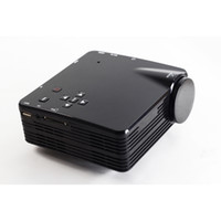 Wholesale Factory Direct LED MINI Portable Projector Home Theater LZ H80 Support AV VGA USB SD HDMI Multimedia FREE DHL Fedex