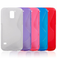 Wholesale TPU Cover Case For S5 i9600 Slim Cases Soft Cover ...