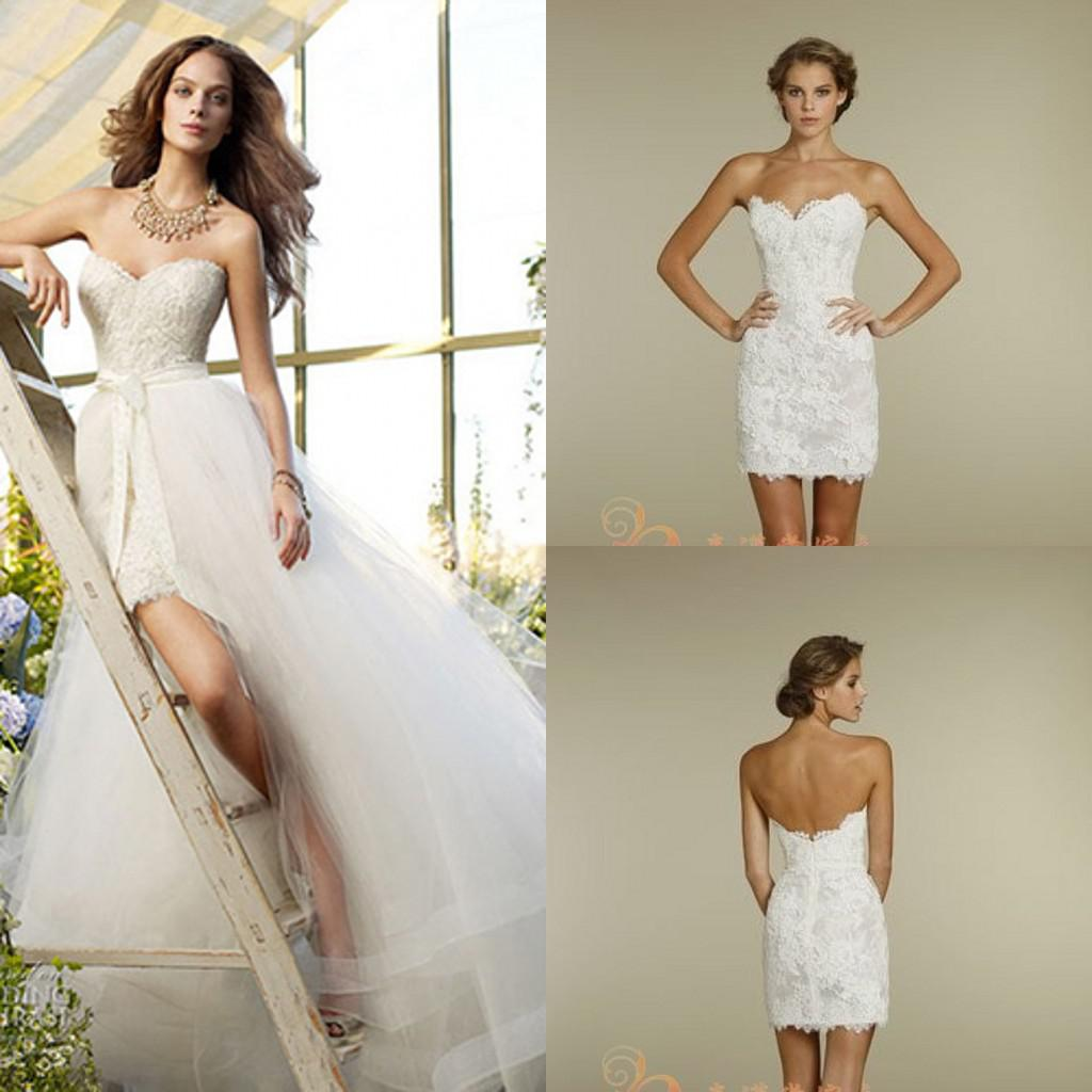 Aline Wedding Dresses 2014 Lace Backless Wedding Dresses