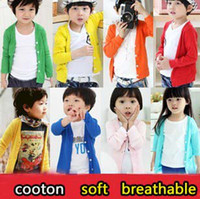 Jackets Unisex Spring / Autumn Free shipping 2013 new spring clothes children's sunscreen clothing boy-girl long-sleeved air-conditioning cardigan jacket A118