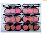 Cheap BRAND NEW MAKE-UP 3 COLOR ROUGE COLOR Blush 24G(120pcs lot)drop shipping+free