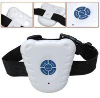 Wholesale New Ultrasonic Pet Dog Anti Bark Stop Training Collars Bark contral dog collar dog training machine