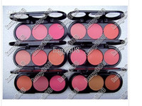 Cheap 2012 Hot BRAND NEW MAKE-UP 3 COLOR ROUGE COLOR Blush 24G(60pcs lot)drop shipping+free