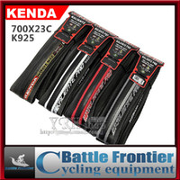 Wholesale 700 C Kenda K925 Folding Bead bicycle tire ultra light g Anti puncture road tyre tires PSI TPI bike parts IRON CLOAK