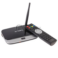 Wholesale CS918 TV BOX RK3188T Bluetooth V4 External Wifi Antenna Ethernet Port Android OS Black