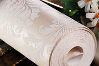 Wholesale Top quality and competitive price non woven wallpaper wall covering DHL FEDEX rolls