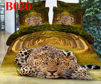 Polyester / Cotton Knitted Home cotton Queen size Tiger king black men's 3d bedding sets duvet cover bedclothes bed cover linens bed sets sheets comforter set bed sheet hot