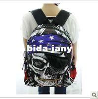 Backpacks skull laptop - 2014 bandanas skull backpack fashion preppy style student backpack bag fashion laptop bag school bag