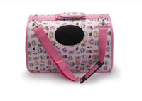 Wholesale Freeshipping EMS New Pet folding bag backpack pets outdoor bag S seven colors drop shipping