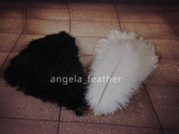 feathers - White Black Ostrich Feather ostrich plume wedding center pieces