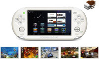 Wholesale Brand JXD quot Android Game Console Player point Touch Tablet PC HD Camera