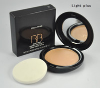 Wholesale Makeup Face Powder Prep Prime BB beauty blam Compact SPF30 g free gift