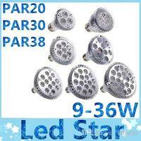 e26 led bulbs - E27 E26 PAR20 PAR30 PAR38 led bulbs light W W W W W W Dimmable V V warm pure cool white led spotights