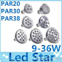 Wholesale Warranty years E27 E26 PAR20 PAR30 PAR38 led bulbs light W Dimmable V V warm pure cool white led spotights