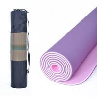 yoga mat - Genuine brand promotion special TPE TPE yoga mat yoga mat slip MM environmental cold yoga blankets