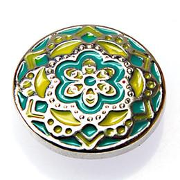 Unique designed Enamel Chunks charm for noosa bracelets and jewelry,Fits noosa bracelet rings