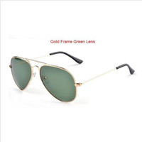 Wholesale 2014 hot Oculos Vintage Shade UV400 Aviator Metal Classic Retro Brand Men Women Fashion Polarized Sunglasses