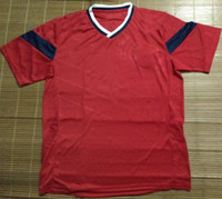 Wholesale Colombia world cup jersey best thailand quality away soccer jersey red soccer jersey mix order