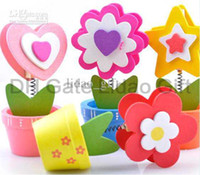 Wholesale Assorted Flower Pot Placecard Holders Set of Garden Wedding Favors Decoration