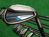 Wholesale 2014 Golf Speedblade Irons Set P A S With Ture Temper Dynamic R300 Steel Shaft Golf Irons Clubs