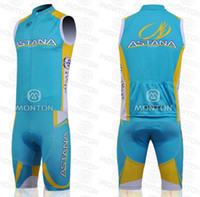 Wholesale 2014 GREEN TREk Cycling Jersey Sets TOP DYEING Technology Italian Imported Ink Vest Sleeveless Bicycle Jersey Sets