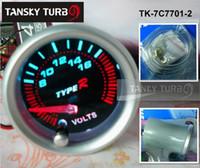 Wholesale Tansky TYPE R quot mm COLOR VOLT GAUGE TK C7701