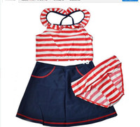 Boy Bikinis 3-6 Months stripe 2014 items New Fashion Summer girl swimsuit