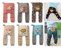 Leggings & Tights Unisex Spring / Autumn Baby Pants New baby Leggings toddler Tights pant 72pair lot