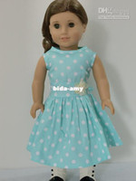 Wholesale 2014 NOW American Girl doll Fashion dress