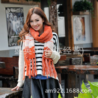 Wholesale Scarves new era with a new son fringed scarves multicolor scarf WJ401