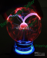 Wholesale Best Sale Magic Plasma Crystal Desktop Ball Decoration USB Battery Dual Powered Touch Light Toy