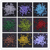 Wholesale 4mm g Glass Seed Loose Beads Mixed Color Jewelry Making CMA