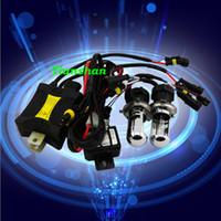 Wholesale Hot Sale HID Xenon Kits H4 High Low H13 Car Bi Xenon HID Kits w Hi Lo Beam Lamp k k k k k