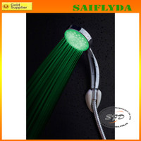 Wholesale Super Bright Automatic Colors LED Light Shower Head Home Bathroom Water Glow