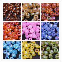 Seed Professions, Hobbies As your choose 5000pcs 4mm AB Color Glass Seed Loose Beads Jewelry Making 500g