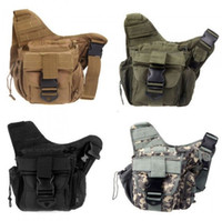 Wholesale Tactical Shoulder Strap Bag men Pouch Travel Backpack Camera Military Bag