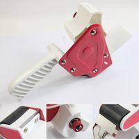 Wholesale Blue amp Red Inch Tape Gun Dispenser Packing Shipping Packaging Cutte Box tape cutter