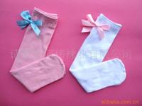 white tube socks - 2015 Direct Selling Sale Girl t Summer White South Korean Children Cotton In Tube Socks Bow Princess Wild Color High