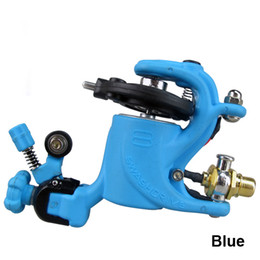 Wholesale Swashdrive Gen Style Blue Rotary Tattoo Machine Gun Shader Liner Colors available For Tattoo Needle Ink Cups Tips Kits