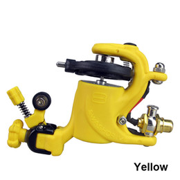 Yellow Swashdrive Gen Style Rotary Tattoo Machine Gun Shader Liner 8 Colors available For Tattoo Needle Ink Cups Tips Kits