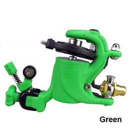Wholesale Hot Sales Green Swashdrive Gen Style Rotary Tattoo Machine Gun Shader Liner Colors available For Tattoo Needle Ink Cups Tips Kits