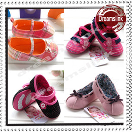 Wholesale Hot sales New Spring Baby Shoes infant first walker shoes baby toddle kids shoes soft bottom prewalker shoes Girls shoes Retail
