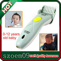 Wholesale 2W For Baby Children Kid Clipper Haircut Tool Rechargeable Electric Hair Trimmer Clipper