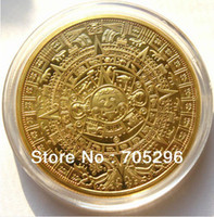Wholesale hot sale OUNCE MINT k FINE GOLD COIN MAYAN PROPHECY CALENDAR layrd n0y coin collection