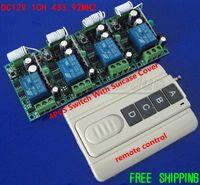 Wholesale DC12V CH MHZ MHZ RF Switch Remote Receiver Wireless Digital Remote Control Switch Livolo Ak Rf Relay MHZ MHZ