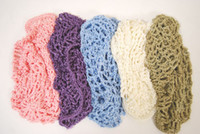 Wholesale Hair Net cap Soft Rayon Snood hat crochet Hair Net