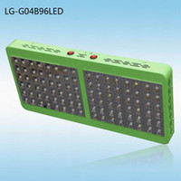 Wholesale 2014 Newest Red Blue White IR Full Spectrum Led Grow Light W Reflector Growth Bloom Switches Indoor Led Grow Light For Vege Flowering